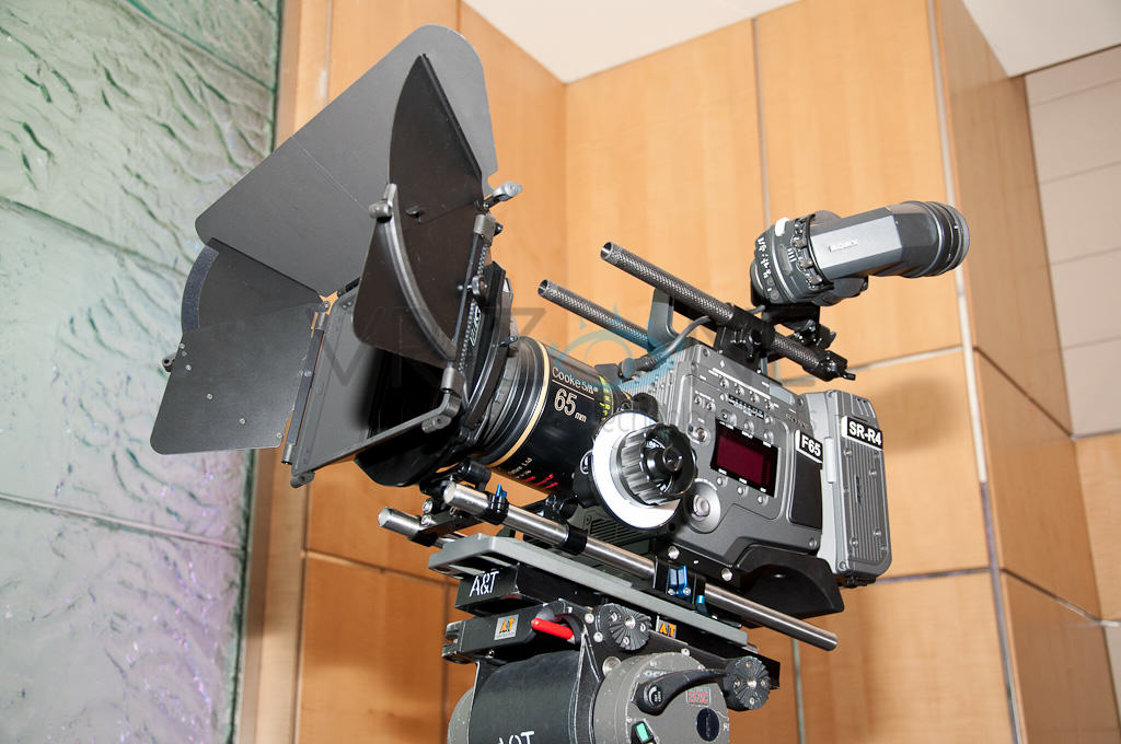 Sony's Monster F65 4K Camera Unboxing!