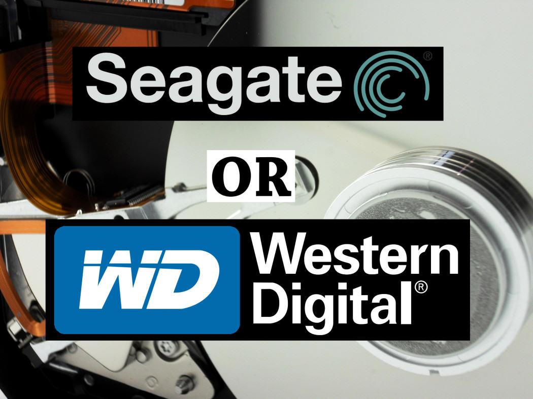 Seagate vs Western Digital Harddrive Comparison dorktTech
