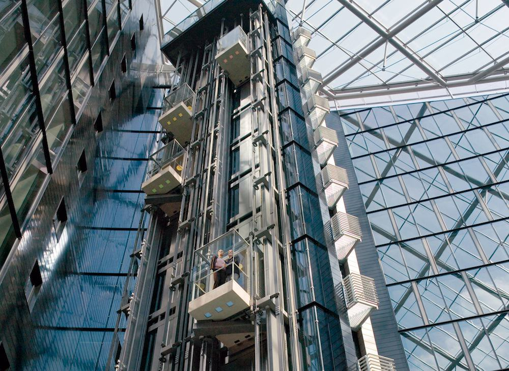 New Technology Allows Two Elevators To Run In One Shaft